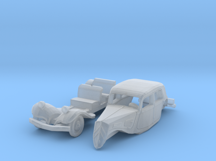 Citroën Traction Avant (N 1:160) 3d printed