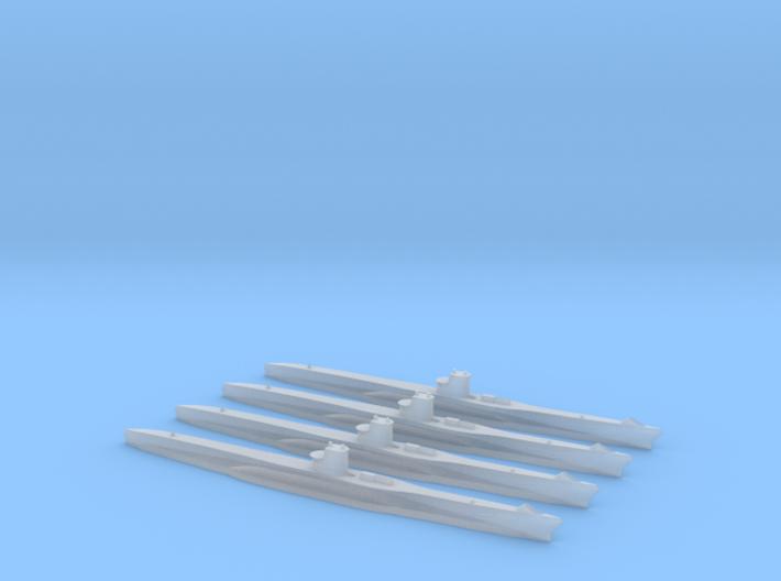 Type VIIC U-Boat 1/2400 x4 3d printed