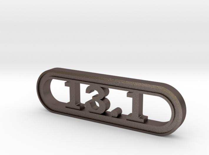 13.1 Half Marathon Keychain 3d printed