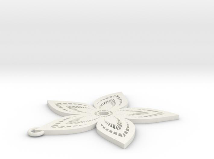 Pendant Flower 3 3d printed