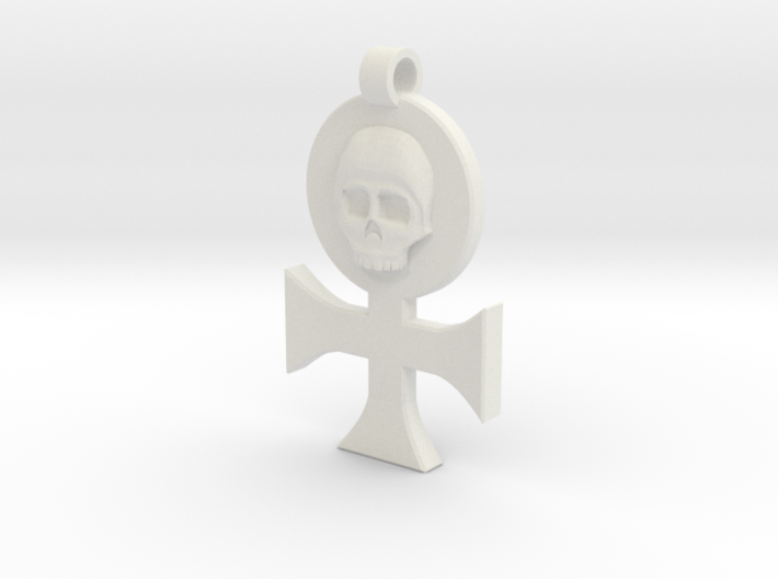 Order of Our Martyred Lady Pendant 3d printed