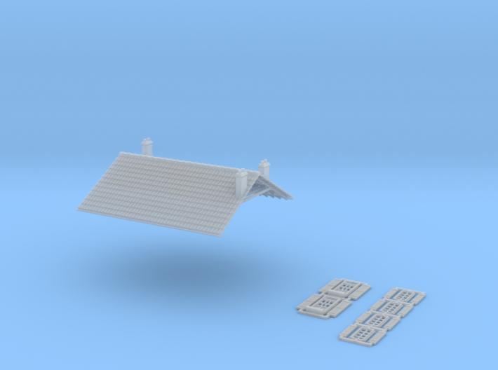 Cafe 2 - No Annex - FUD - Nm - 1:160 3d printed