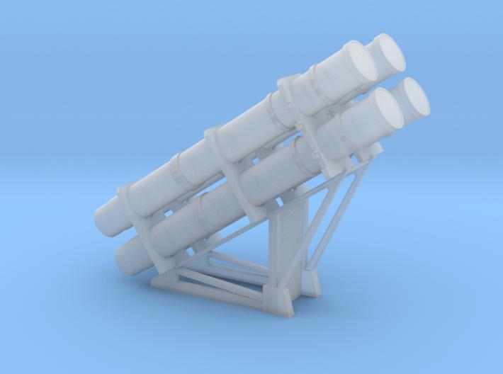 1:72 RGM-84 HARPOON Launcher - set of 2 3d printed