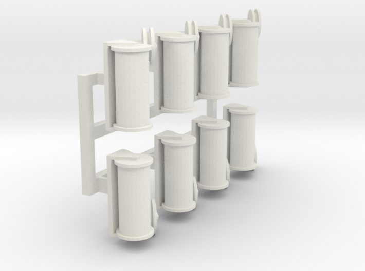 Causeway loading cable guides 3d printed