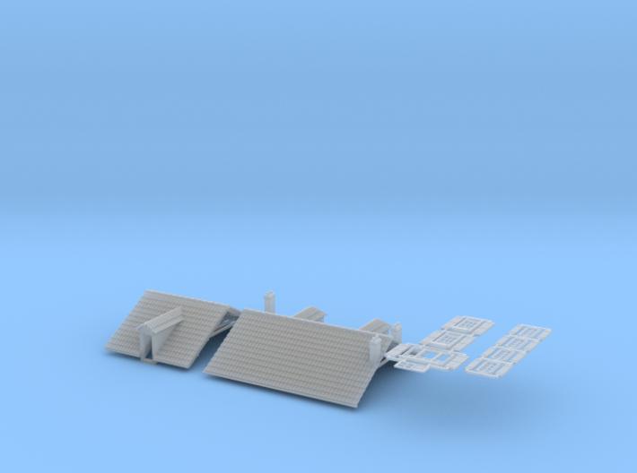 Cafe ( FUD Parts ) - 1:160 3d printed