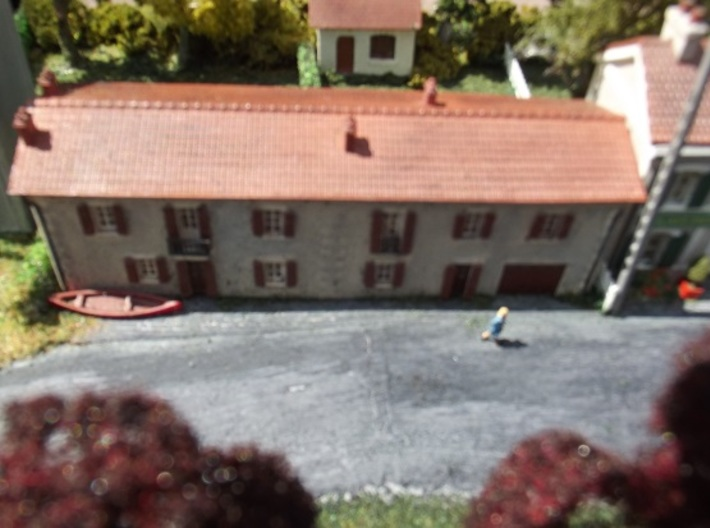 Cottages - FUD - Nm - 1:160 3d printed