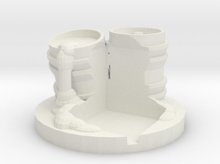 Die Holder Barrels 3d printed