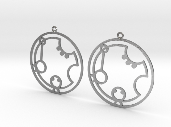 Katrina - Earrings - Series 1 3d printed