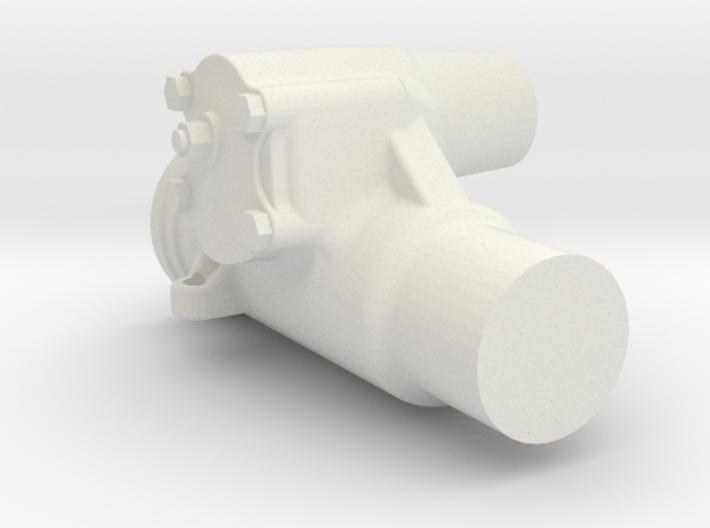 1/6 Scale Saginaw Steering Box 3d printed