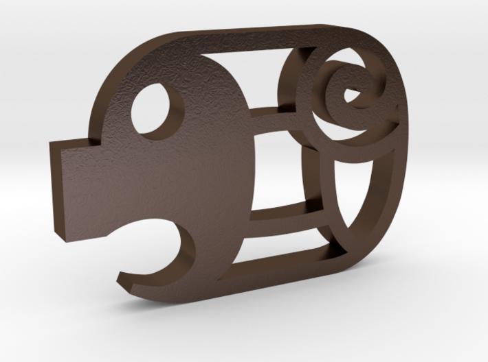 mini Piggy Cutlet Keychain 3d printed