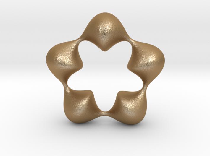 0058 Antisymmetric Torus (p=5.0) #007 3d printed