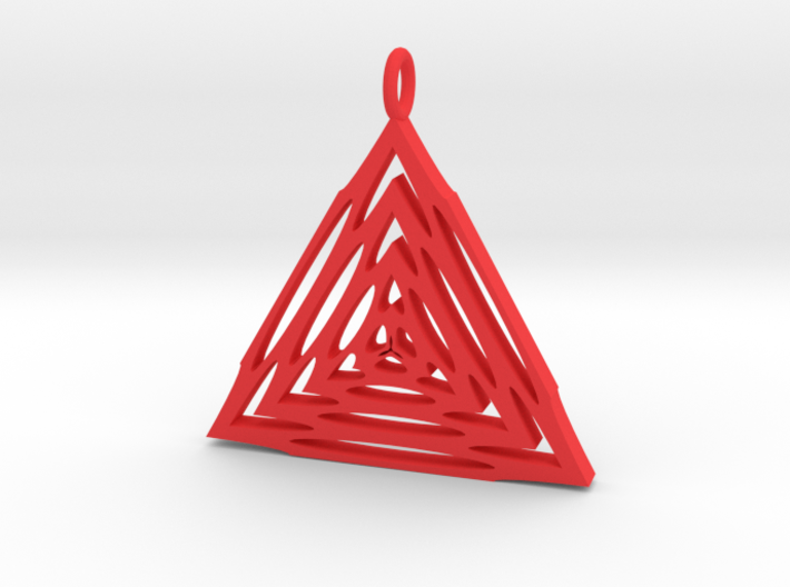 Trianglular Pendant 3d printed