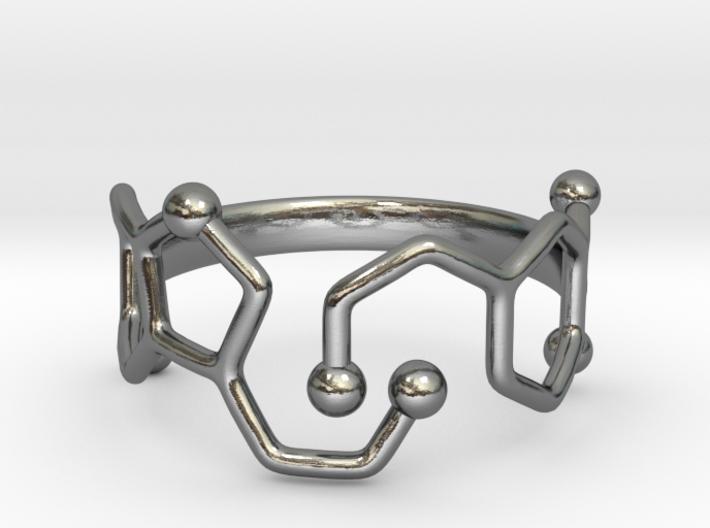 Dopamine Serotonin ring - size 6 3d printed