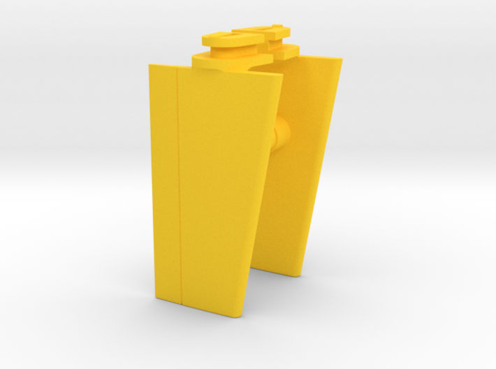 Playmobil Top Agents 4876, front wings (1 of 4) 3d printed