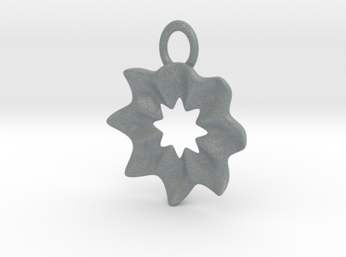 Starry Earring 3d printed