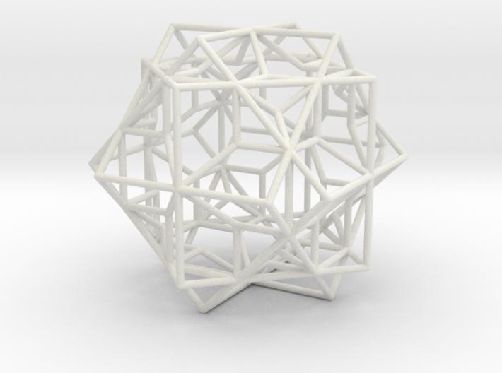 3 Cube Compound, round edges