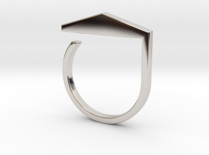 Adjustable ring. Basic model 3. 3d printed