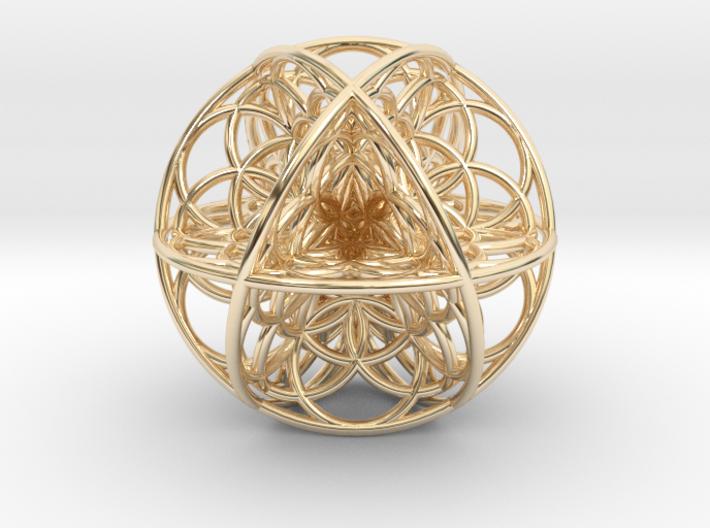 Seed Of Life Sacred Geometry 35x1.2mm 3d printed