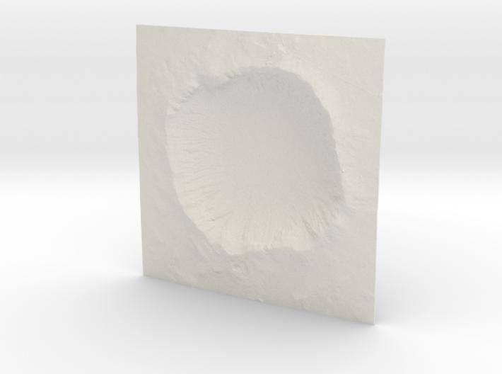8'' Meteor Crater, Arizona, USA 3d printed