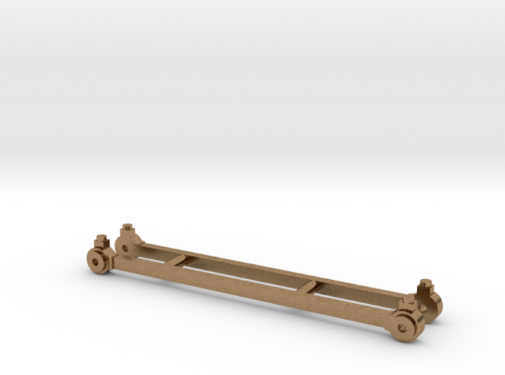 Coupling rods for North Staffordshire Railway B cl 3d printed