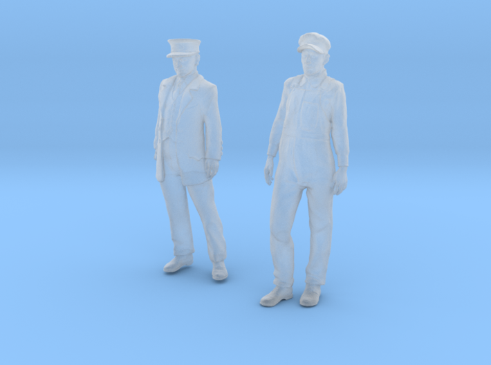 1:29 scale Conductor and Engineer Combo 3d printed