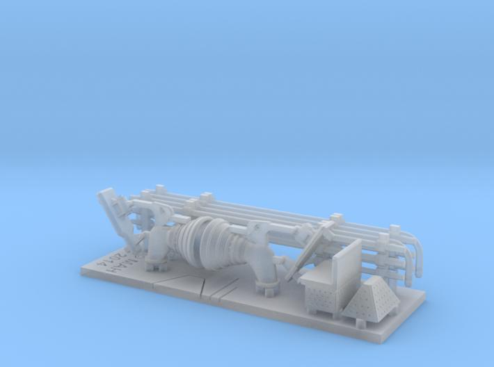 Fire Hose Applicator Set 1/144 3d printed