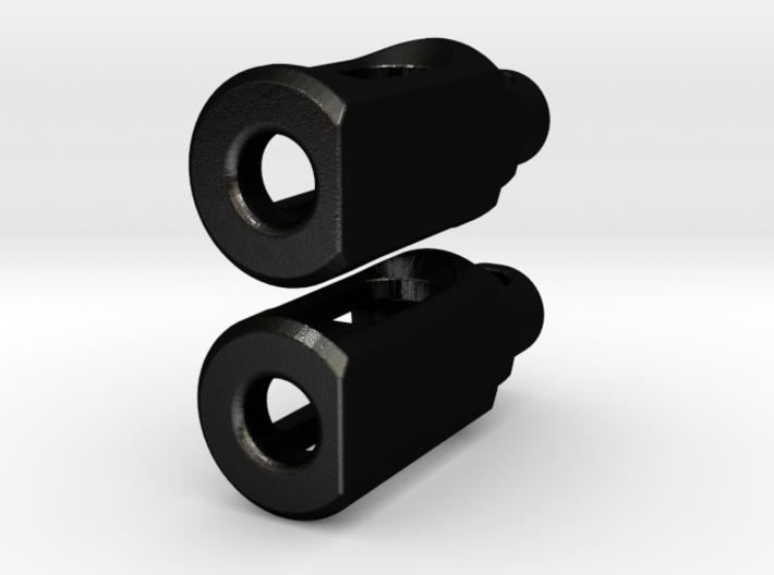 Tritium Earrings 2 (3x11mm Vials) 3d printed