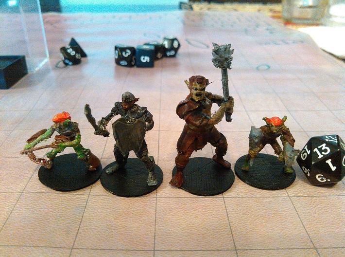 Goblin - Melee 3d printed