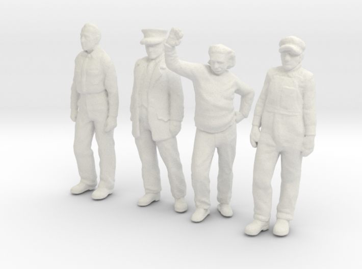 1:48 scale Standing figure pack WS 3d printed