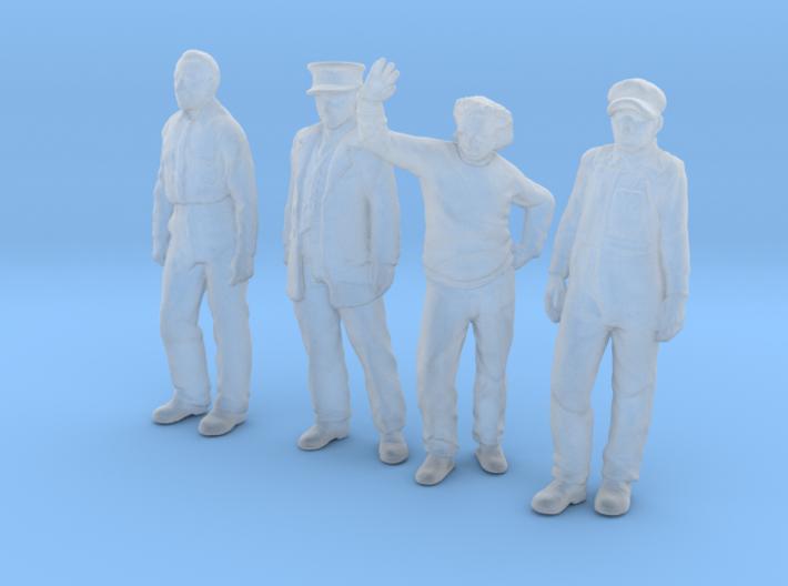 1:48 scale Standing Figure pack FUD 3d printed