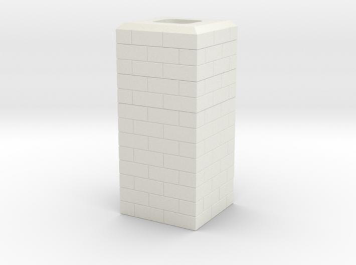 Noel, MO Single Chimney HO Scale 3d printed