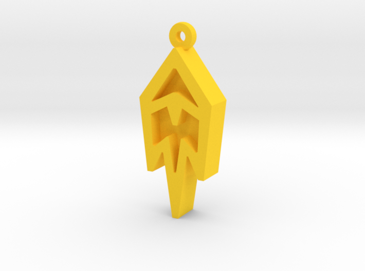 Unova Pendant [Freeze] 3d printed