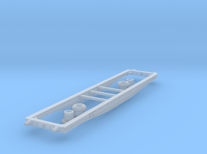 Coil E & G (ex Warflat 50t) chassis 3d printed