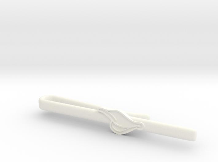 Duck's Bill Tie Clip 3d printed