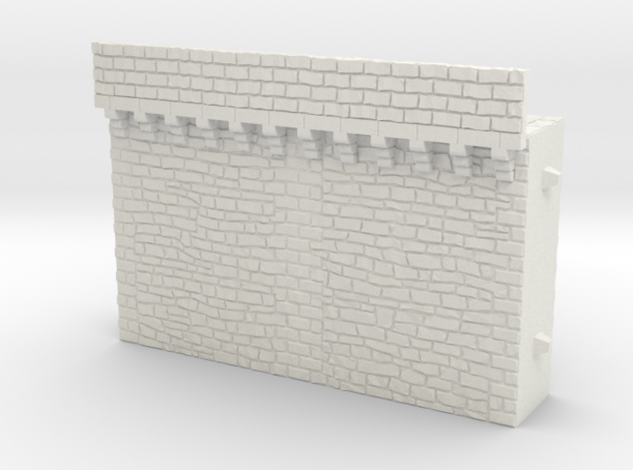 NF2 Modular fortified wall 3d printed