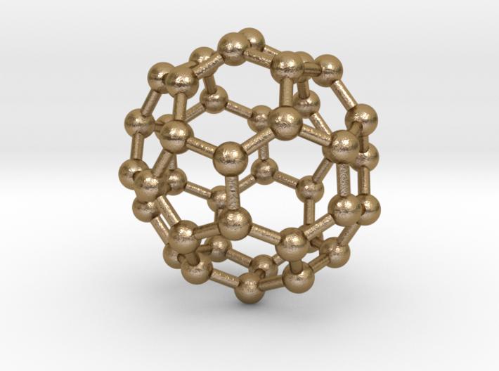 0151 Fullerene C40-39 d5d 3d printed