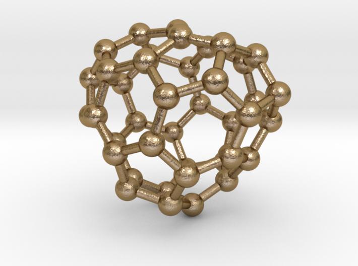 0141 Fullerene C40-29 c2 3d printed