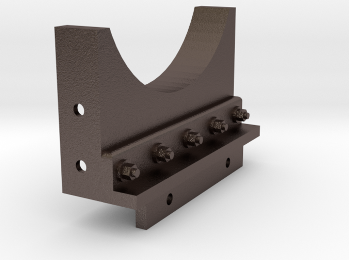7/8 Scale boiler mount for a baldwin 0-4-2 or 0 Li 3d printed
