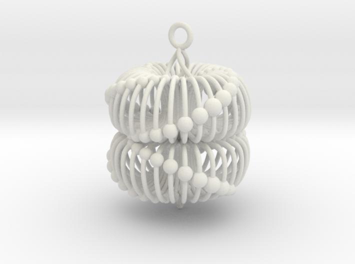 Double Torus Pendant 40 3d printed