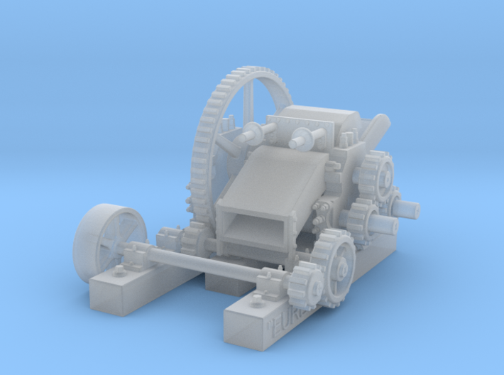 "Blymer Sugar Mill ""Eureka"" HO Scale 3d printed"