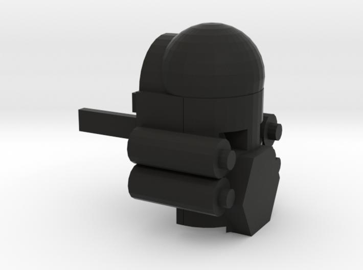 Trigger's Kanohi Mask 3d printed