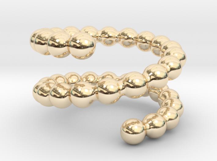 Spiral ring 22 3d printed