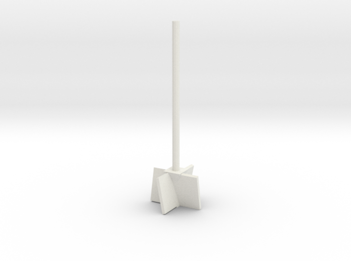 Jumbo Angled Vape Juice Mixing Rod 3d printed