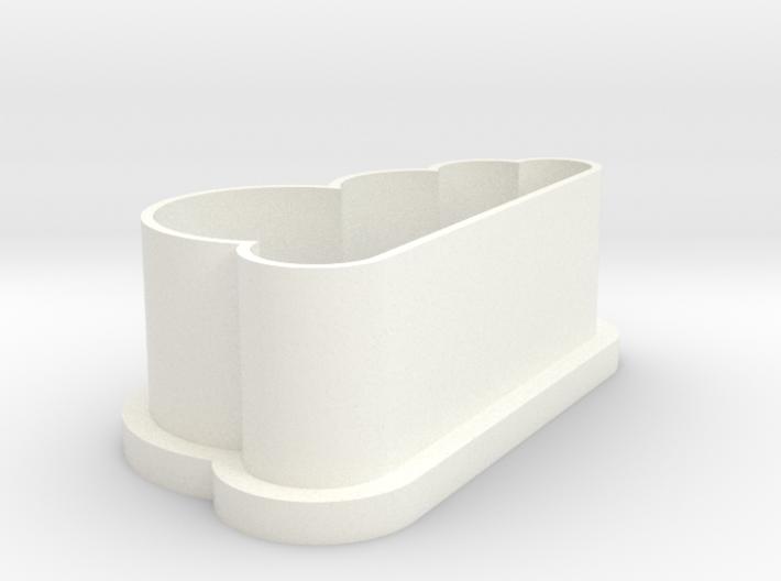 Cloud Cookie-cutter 3d printed