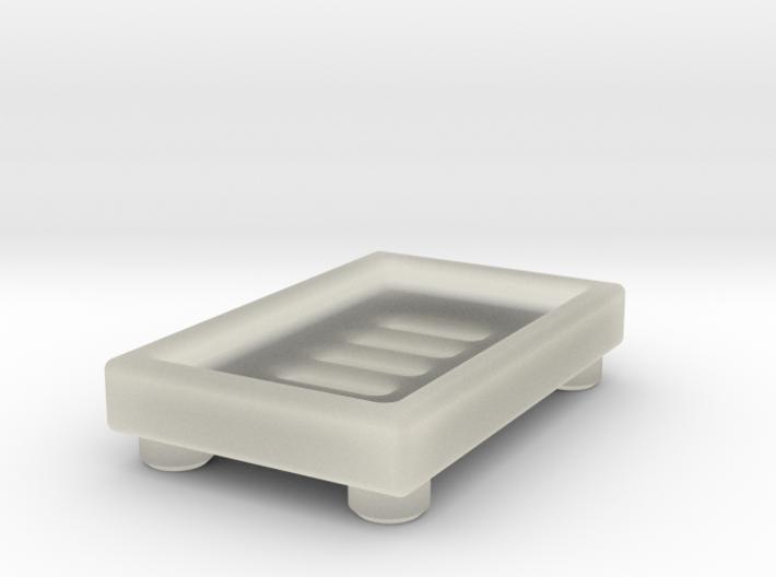 Soap Dish A 3d printed