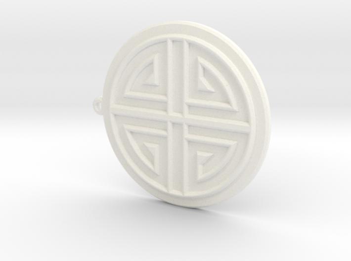 Sumaksae Pendant 3d printed