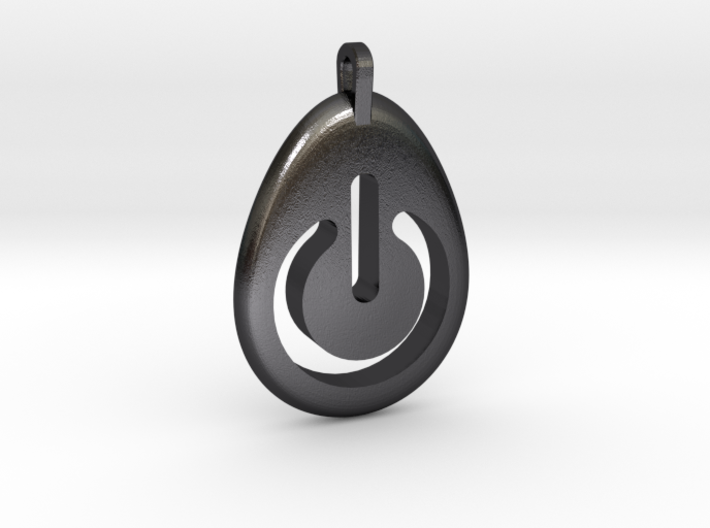 Power Pendant 3d printed