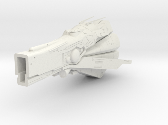 LoGH Imperial Konigs Tiger 1:3000 (Part 2/2) 3d printed
