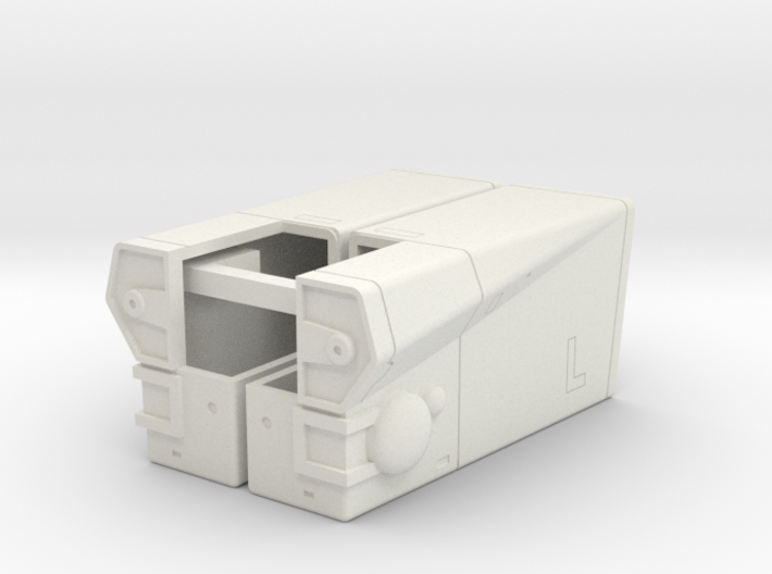 LoGH Imperial Carrier 1:3000 (Part 3/4) 3d printed