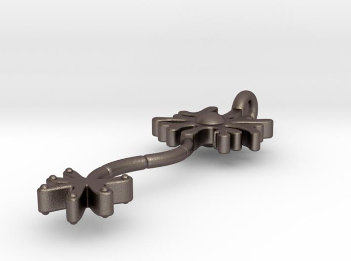 Neuron Keychain, Pendant 3d printed